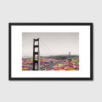 It's In The Water Framed Art Print - Red Candy