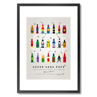 My Super Soda Pops Universe Framed Print - Red Candy