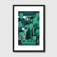 Breaking Bad Framed Print - Red Candy