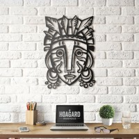 Mask of Redemption Wall Art - Red Candy