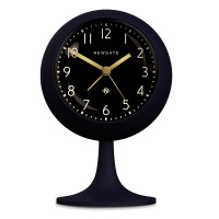 Newgate Dome Petrol Blue Alarm Clock (Black) - Red Candy