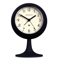 Newgate Dome Petrol Blue Alarm Clock - dark blue podium alarm clock