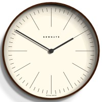 Newgate Mr Clarke Wooden Wall Clock - Large - designer clock