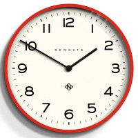 Newgate Number One Echo Clock (Red) - Red Candy