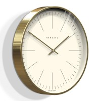 Newgate Oslo Wall Clock (Marker Dial) - Red Candy