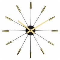 Nextime Plug Inn Clock (Gold) - Red Candy