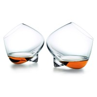 Normann Copenhagen Cognac Glasses - rocking cognac glass