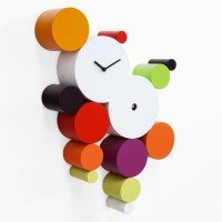 Progetti Cucuball Cuckoo Clock (Warm Colours) - Red Candy