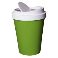 Coffee Bin - Green - Novelty Takeaway Cup Waste Can - Qualy