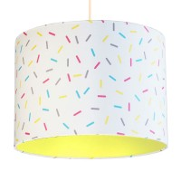 Multi-Colour Sprinkles Lampshade (Primrose) - Red Candy