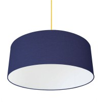 XL Drum Lampshade (Navy) - Red Candy