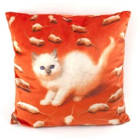 Seletti Toiletpaper Kitten Cushion (Cover Only)