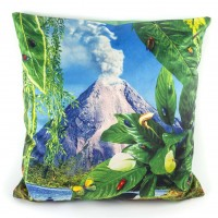 Seletti Toiletpaper Volcano Cushion (Cover Only) - Red Candy