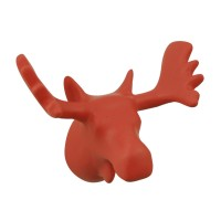 Moose Coat Hook - 4 Colours Available - animal trophy head hook