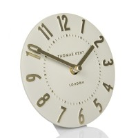 Thomas Kent Mulberry Mantel Clock (Goldfinch) - Red Candy