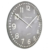 "Thomas Kent Wharf Clock 30"" - extra large industrial wall clock"