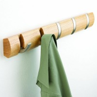 Umbra Flip Hook Natural - designer coat hanger