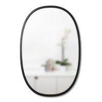 Umbra Hub Oval Mirror - Red Candy
