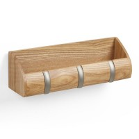 Umbra Mini Cubby Hook - Natural - storage caddy and coat rack
