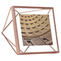 Umbra Prisma Photo Frame 4x4 - Copper - square photo frame
