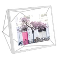 Umbra Prisma Photo Frame 4x6 - White - designer 3D photo display
