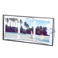 Umbra Prisma Multi Photo Display - Black - designer photo display