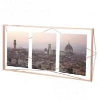 Umbra Prisma Multi Photo Display - Copper - metallic photo frame
