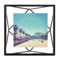 "Umbra Prisma Photo Frame (4x4"" Black) - Red Candy"