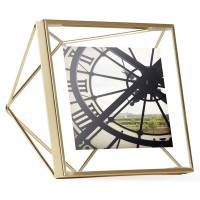 "Umbra Prisma Photo Frame (4x4"" Brass) - Red Candy"