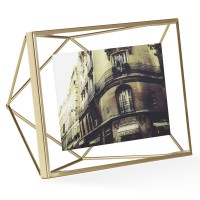 Umbra Prisma Photo Frame 4x6 - Brass - stylish photo display