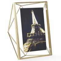 Umbra Prisma Photo Frame 5x7 - Brass - wire picture frame