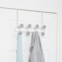 Umbra Yook Wall Hook - White/Grey - over door hanger