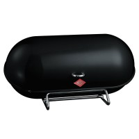 Wesco Breadboy Bread Bin (Black) - Red Candy