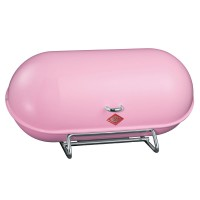 Wesco Breadboy Bread Bin (Pink) - Red Candy