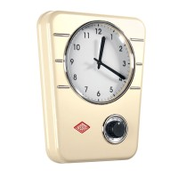 Wesco Classic Line Kitchen Clock - Almond - kitchen timer clock