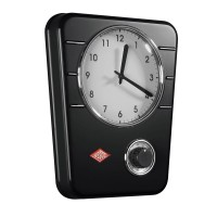 Wesco Classic Line Kitchen Clock (Black) - Red Candy