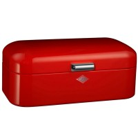 Wesco Grandy Red Breadbin - designer red bread bin