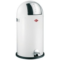 Wesco Kickboy Bin (White) - Red Candy