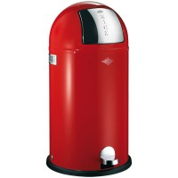 Wesco Kickboy Bin - red pedal bin - buy online UK