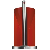 Wesco Kitchen Roll Holder - Red - modern paper towel stand