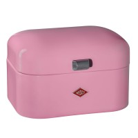 Wesco Single Grandy Bread Bin (Pink) - Red Candy