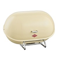 Wesco Single Breadboy Bread Bin – almond kitchen bread bin