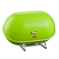 Wesco Single Breadboy Bread Bin – green kitchen bread bin
