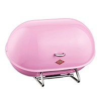 Wesco Single Breadboy Bread Bin (Pink) - Red Candy