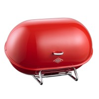 Wesco Single Breadboy Bread Bin – red kitchen bread bin