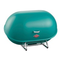 Wesco Single Breadboy Bread Bin (Turquoise) - Red Candy