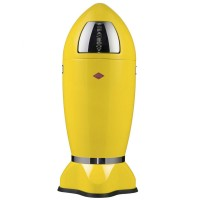Wesco Spaceboy Bin Lemon Yellow - 35l rocket bin