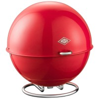 Wesco Superball Bread Bin - Red - modern pod bread bin
