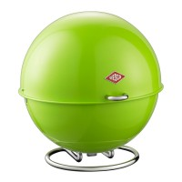 Wesco Superball Bread Bin (Lime Green) - Red Candy