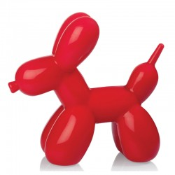 Balloon Dog Light - Red - quirky desk lamp - Bitten Design